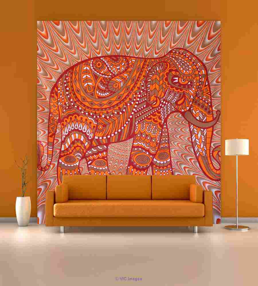 Elegant Elephant wall Tapestry by Handicrunch calgary