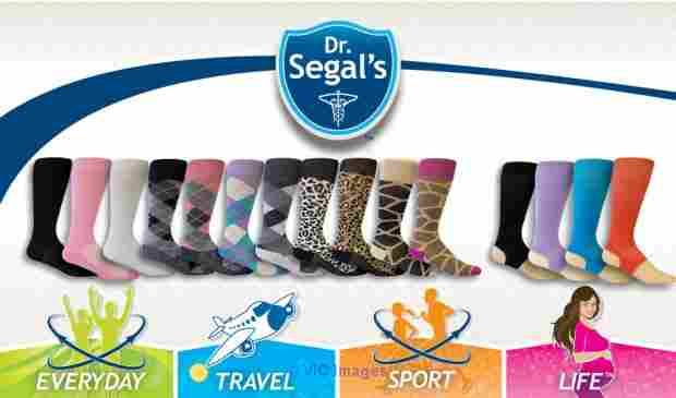 Travel Compression Socks from Drsegals  calgary
