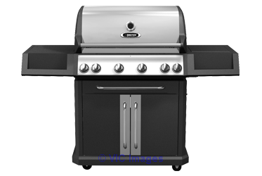 Bbqtek Grill For 63 000 BTU Double Lid Natural Gas Grill calgary