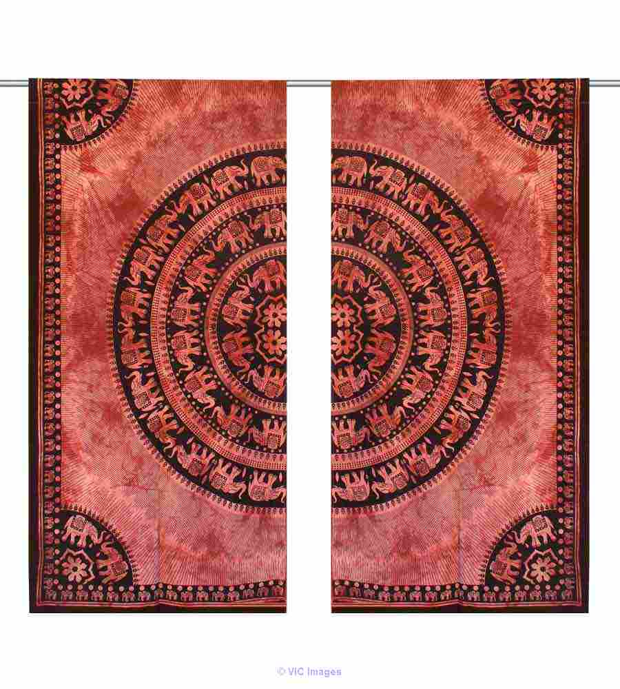 Chicest range of mandala curtains from Handicrunch   calgary