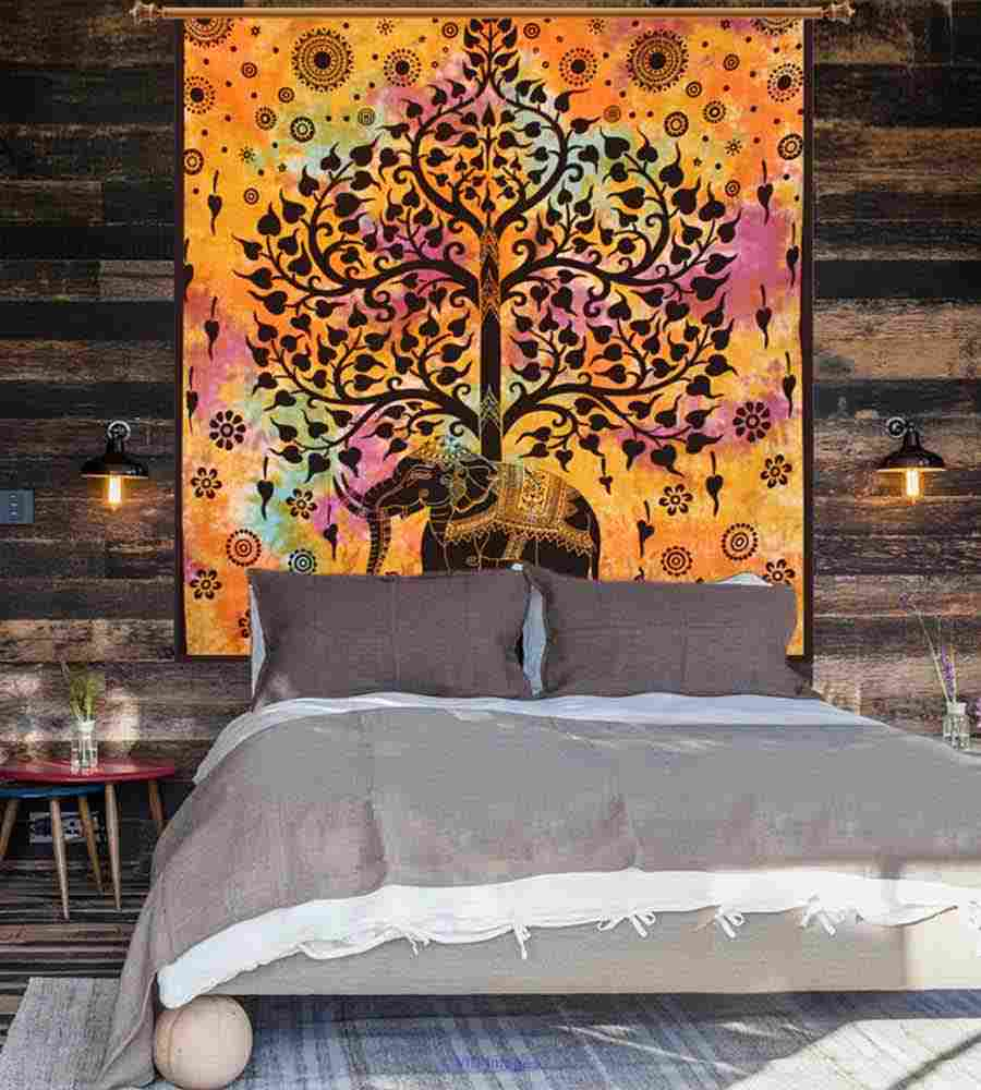 Thrilling Tree of life Tapestries by Handicrunch calgary