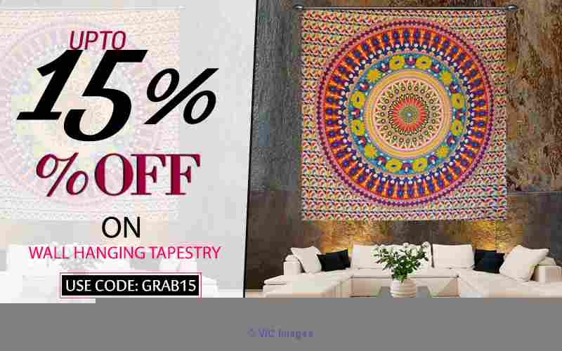 Chicest Indian wall tapestries by Handicrunch calgary