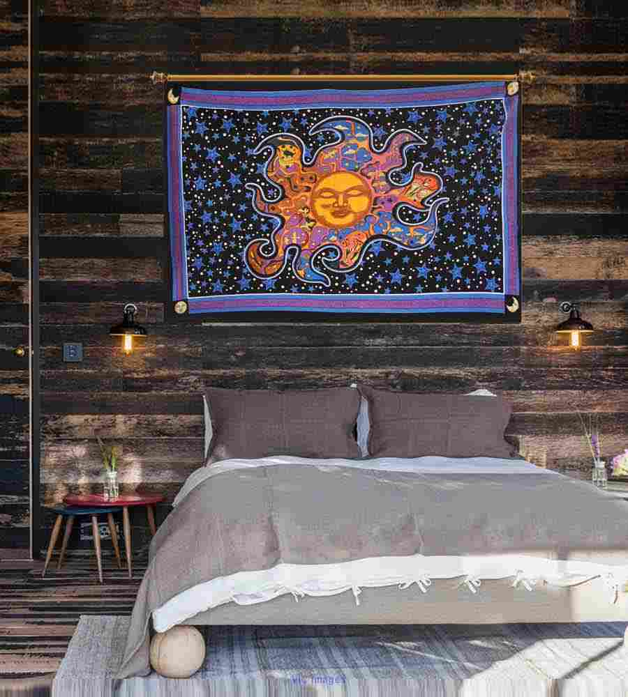 Enthralling Sun & Moon Tapestries by Handicrunch calgary