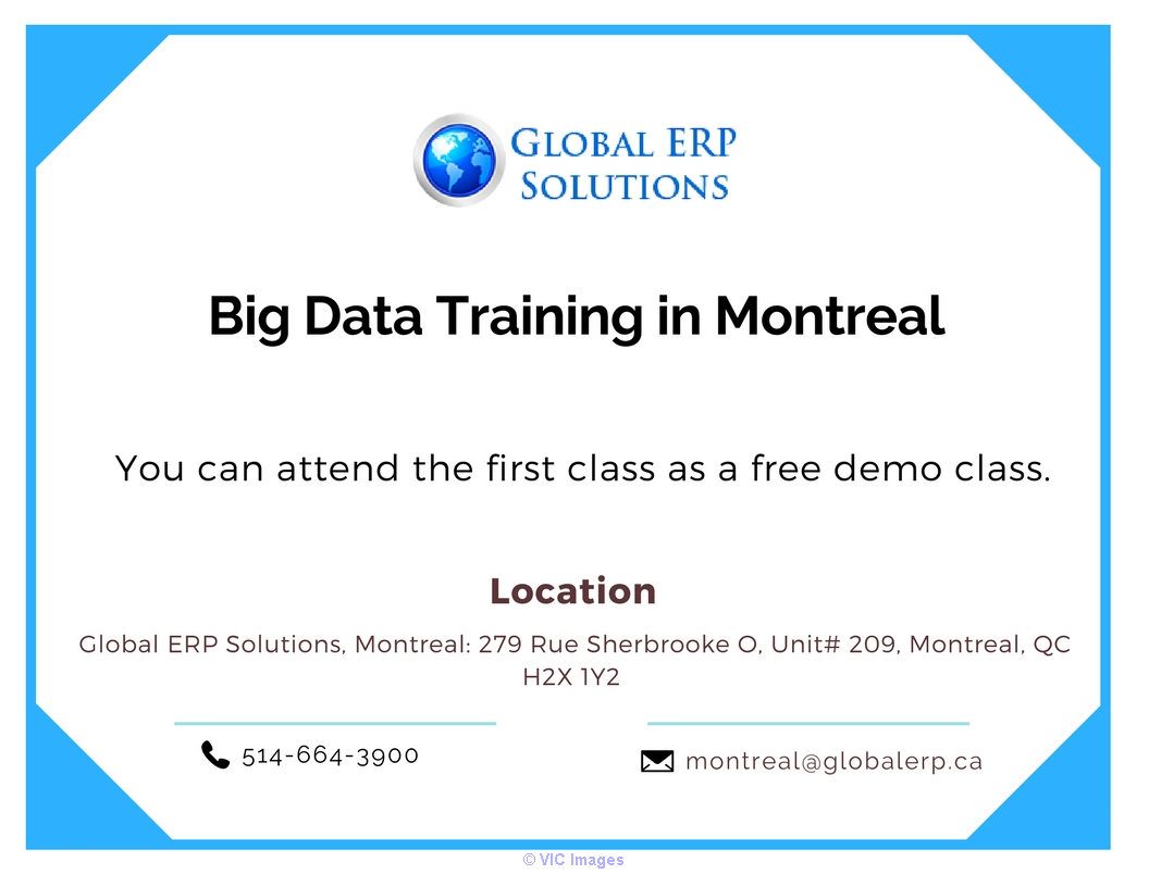 Big Data & Hadoop Training  in Montreal Calgary, Alberta, Canada Annonces Classées