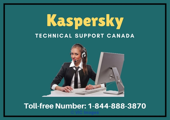 Kaspersky Antivirus Support Canada Number 1-844-888-3870 calgary