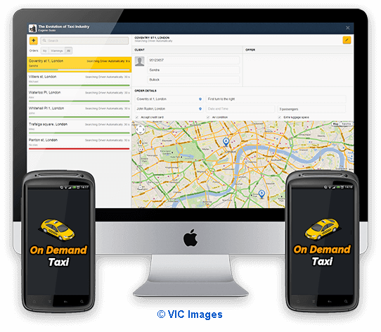 Taxi Dispatch Software Development Company | Build Taxi dispatch App  calgary