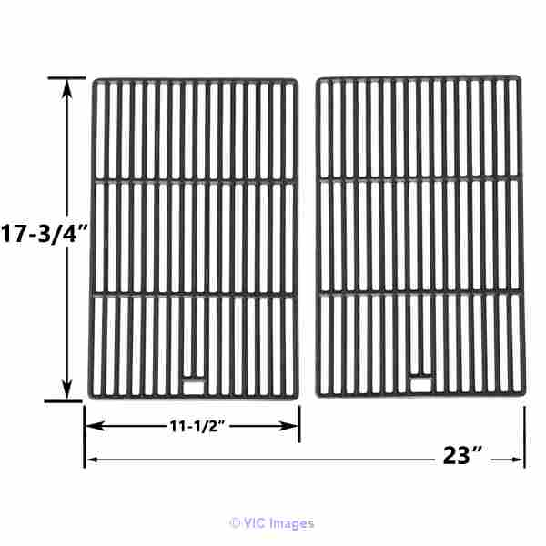 Find 2 Pack Matte Cast Iron Cooking Grid for Life@Home Grill Model calgary