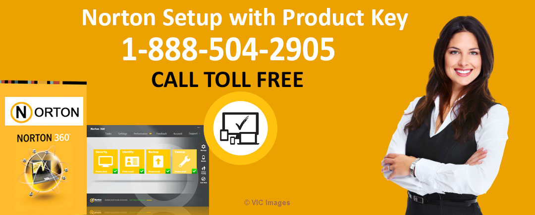 Enter Norton Setup With Product Key code to Re-download calgary