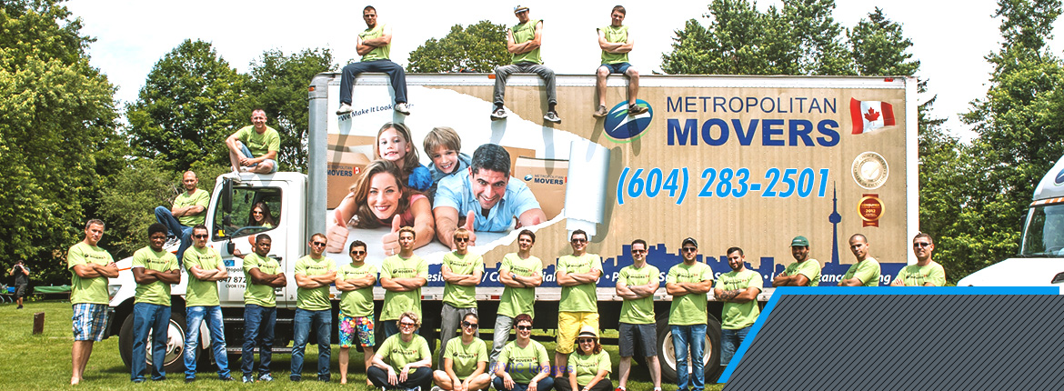 Metropolitan Local Movers Vancouver BC - Best Moving Company calgary