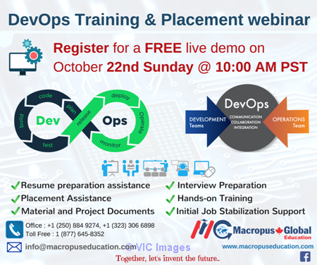 FREE live webinar on DevOps Training & Placement Services calgary