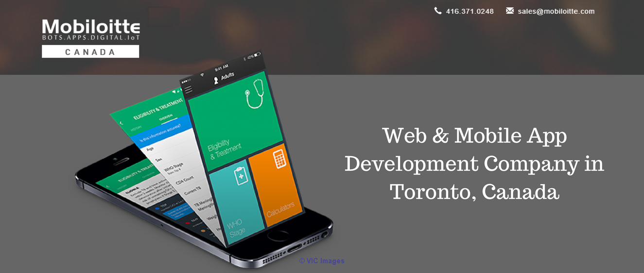 Mobile App Development Company in Toronto, Canada calgary