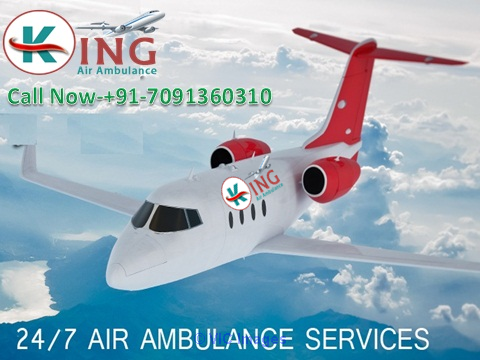 Patna to Delhi Medical Facility King Air Ambulance Service calgary