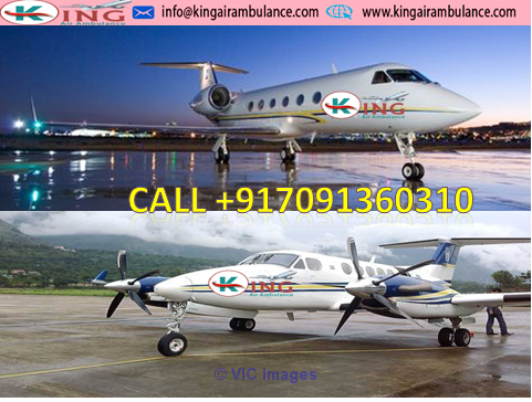 Get Low Cost King Air Ambulance from Ranchi to Vellore with Doctors Te Calgary, Alberta, Canada Annonces Classées