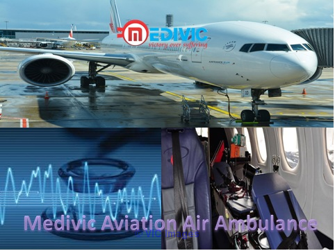 Emergency Air Ambulance Service from Nagpur with Medical Facility calgary