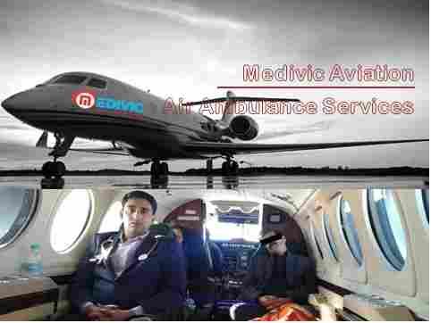 Medivic Aviation Air Ambulance Service in Raipur at the Low Fare  calgary