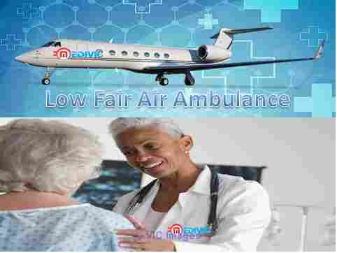 Medical Emergency Air Ambulance Mumbai with Doctor Facility calgary