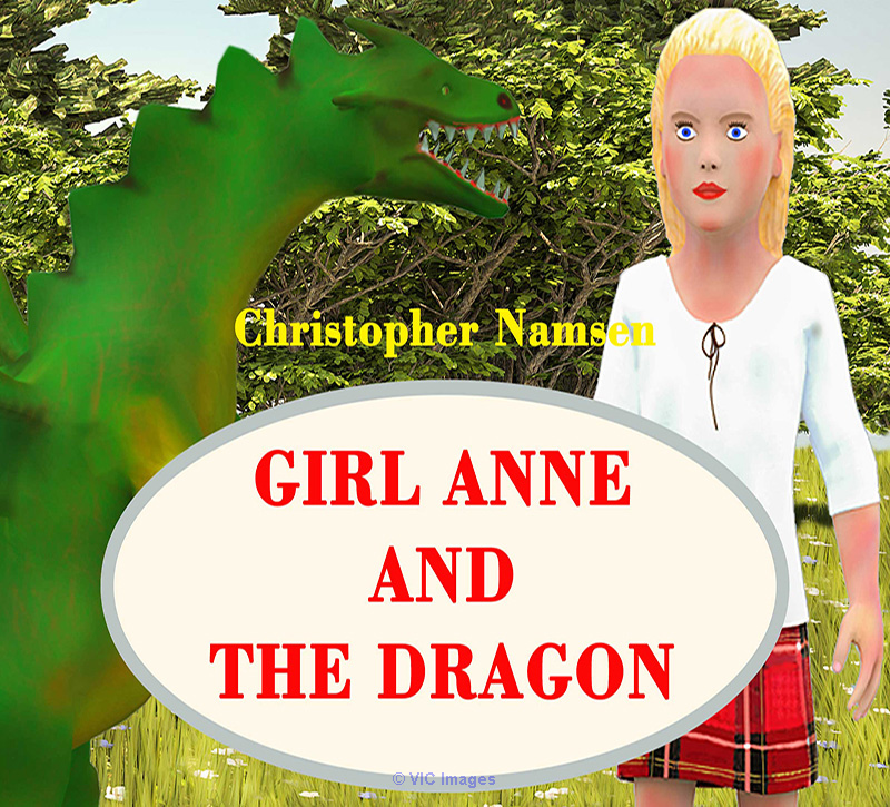 Children`s book Girl Anne and the Dragon Calgary, Alberta, Canada Annonces Classées