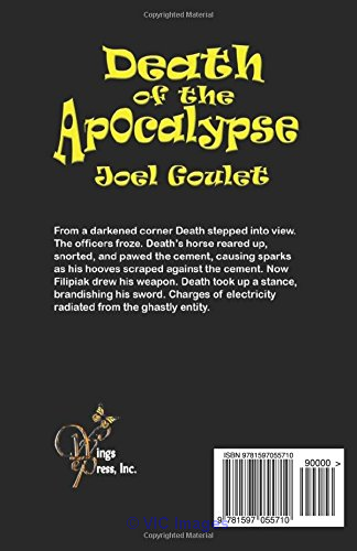 Death of the Apocalypse-a hauntingly eerie novel calgary