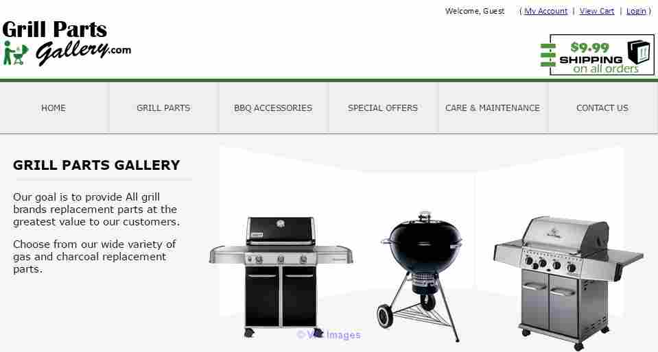 Get BBQ Grill Burner, Heat Shield & Cooking Grate at Grillpartsgallery calgary