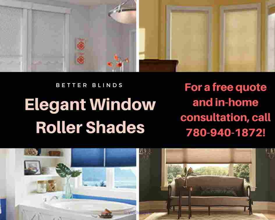 Designer Roller Shades|Fabric Blinds |Better Blinds calgary