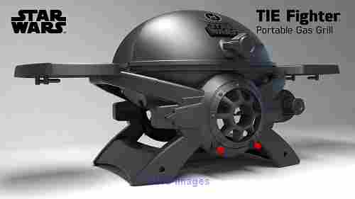 The Officially Licensed Star Wars TIE Fighter Portable Gas Grill calgary