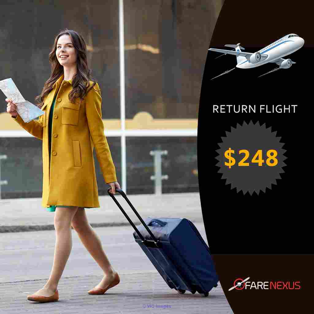 Return flight  Vancouver - Calgary $248  calgary
