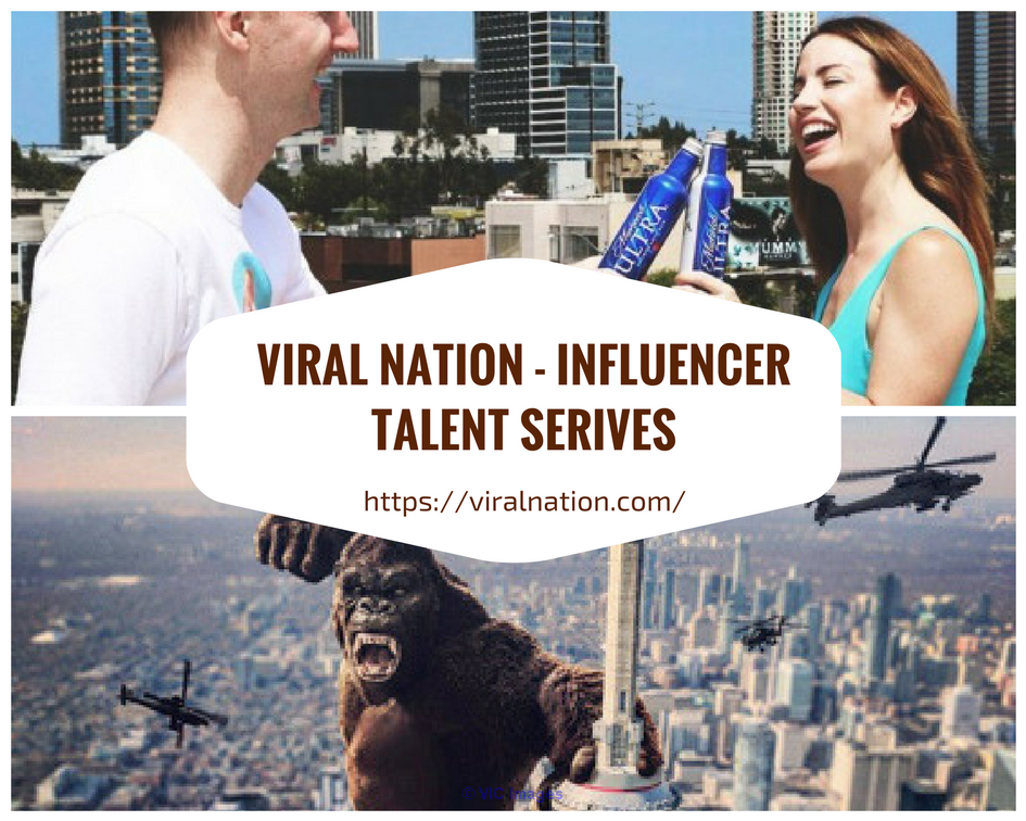 Instagram Talent Agency with Viral Nation calgary