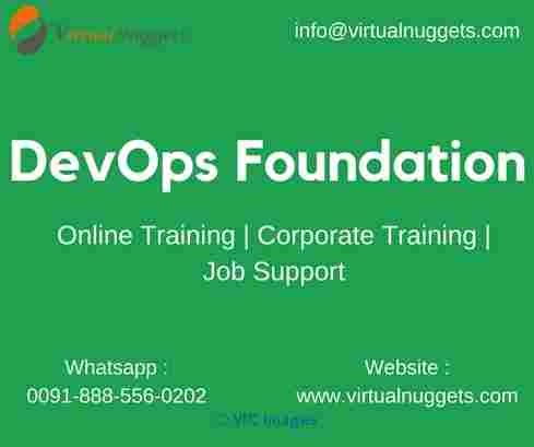 DevOps Online Training | VirtualNuggets calgary