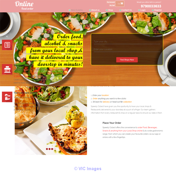 Get Zomato Clone | Just Eat script from I-Net Calgary, Alberta, Canada Annonces Classées