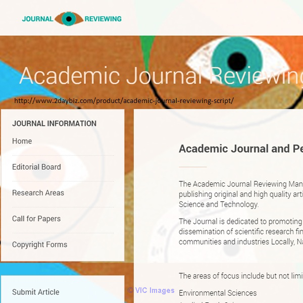 Academic Journal Reviewing script | Management System software  calgary