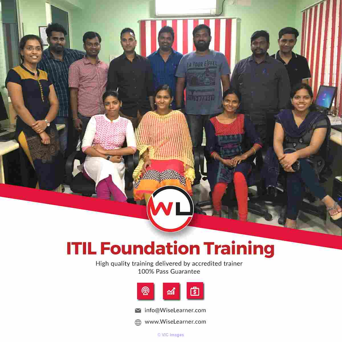 ITIL Foundation Training and Certification Program calgary