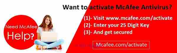 Install mcafee.com/activate for instant McAfee Antivirus Support calgary
