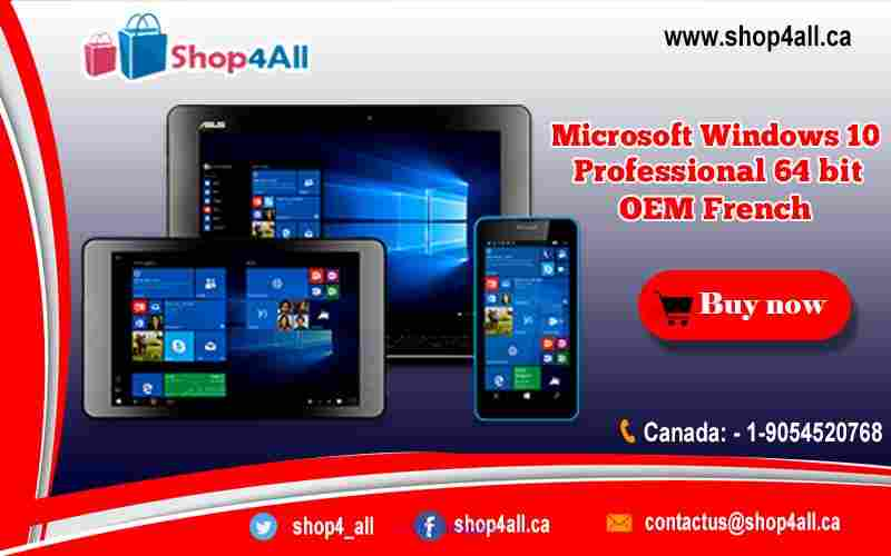 Microsoft Windows 10 Professional 64 bit OEM French Calgary, Alberta, Canada Classifieds