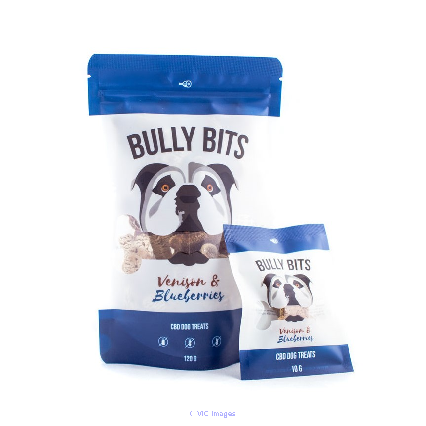 Bully Bites CBD Pet Treats – Venison & Blueberries calgary