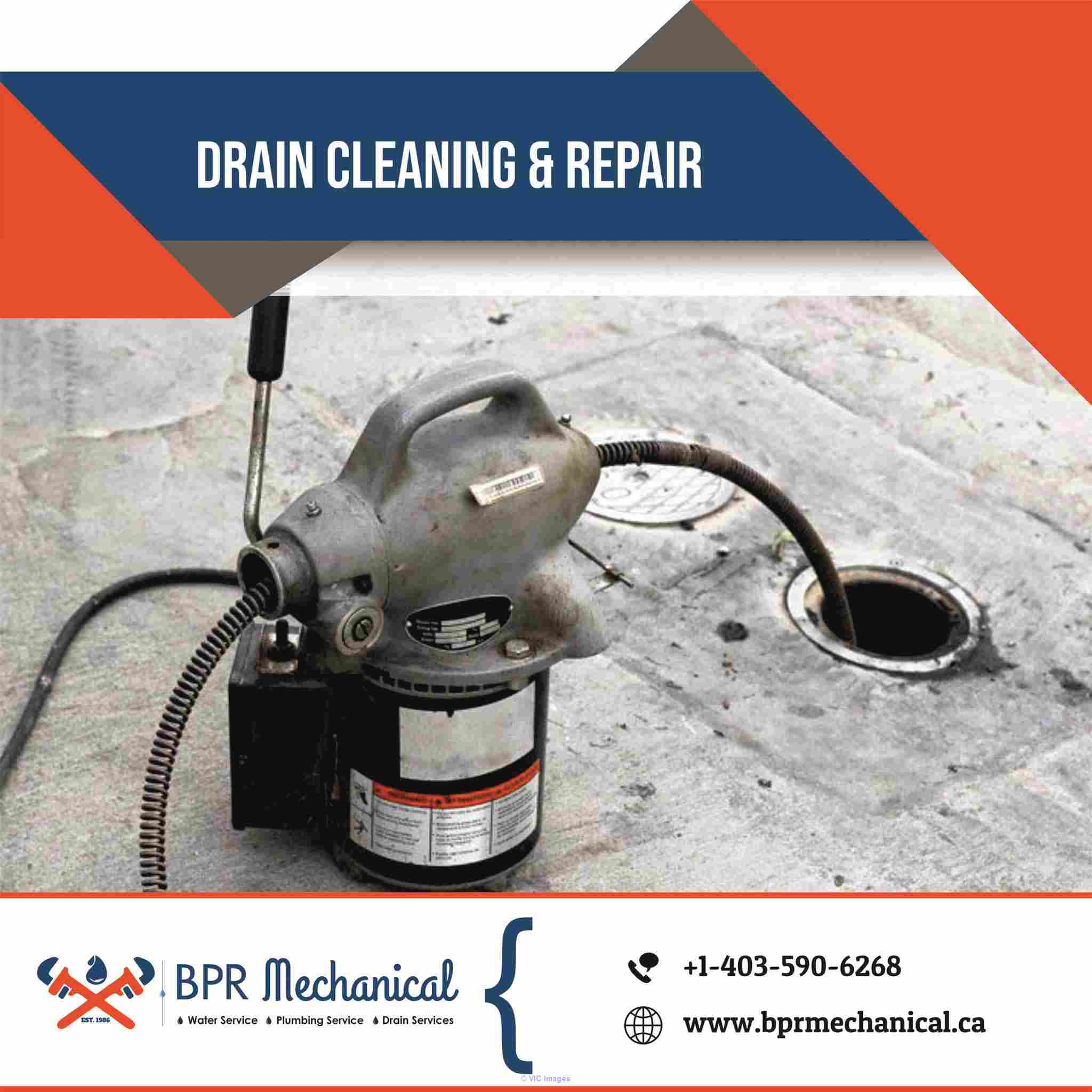Drain Power Flushing Calgary NE: BPR Mechanical Calgary, Alberta, Canada Annonces Classées