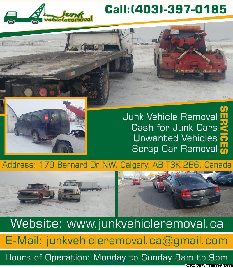 Junk Vehicle Removal | Cash for Cars Calgary Calgary, Alberta, Canada Classifieds