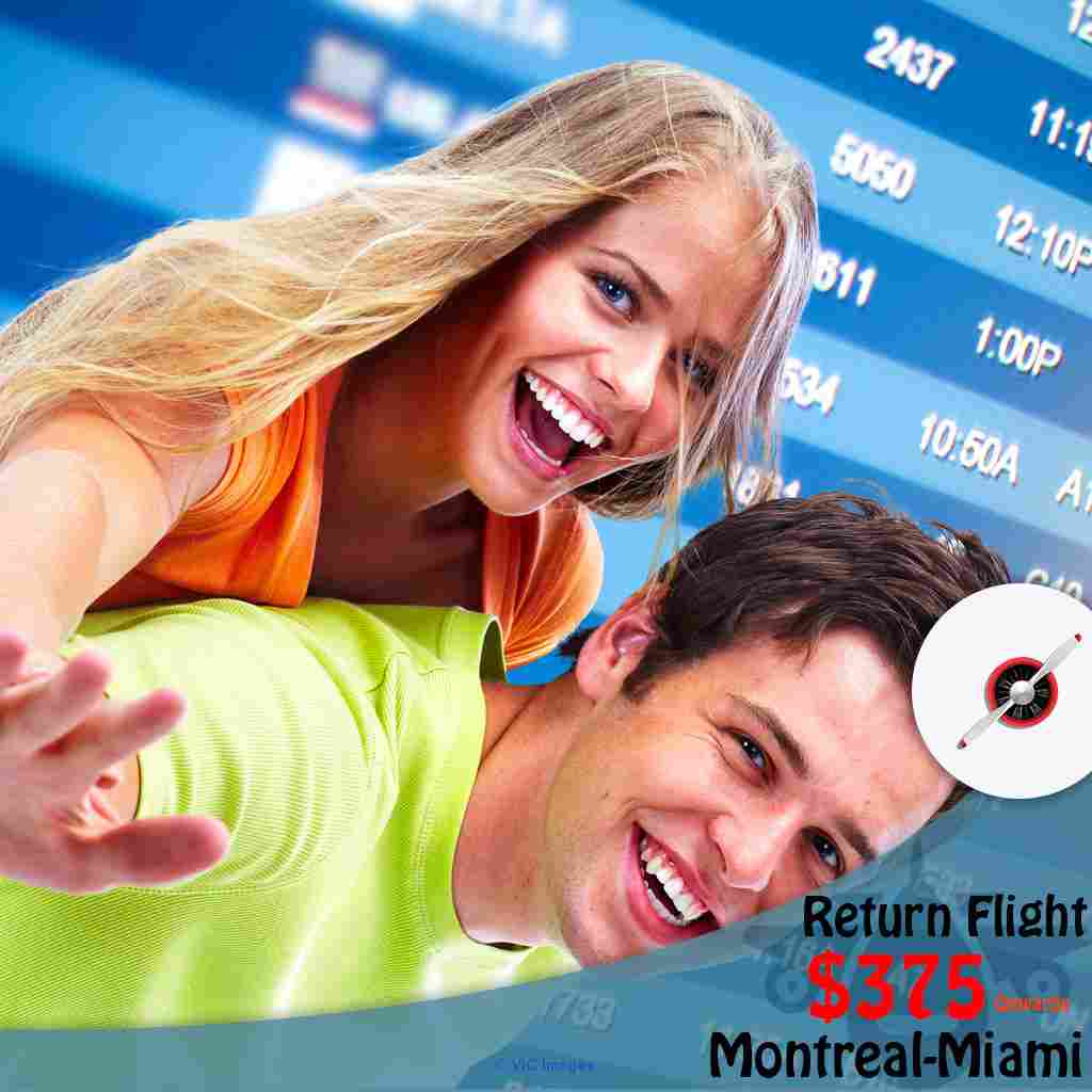 Book Return flight Montreal-Miami from CAD $375 Calgary, Alberta, Canada Classifieds