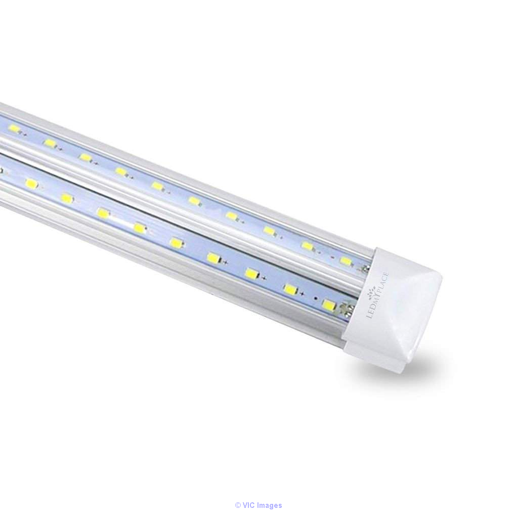 T8 4ft V Shape LED Tube 30W Integrated 6500k Clear 4000 Lumens Calgary, Alberta, Canada Annonces Classées