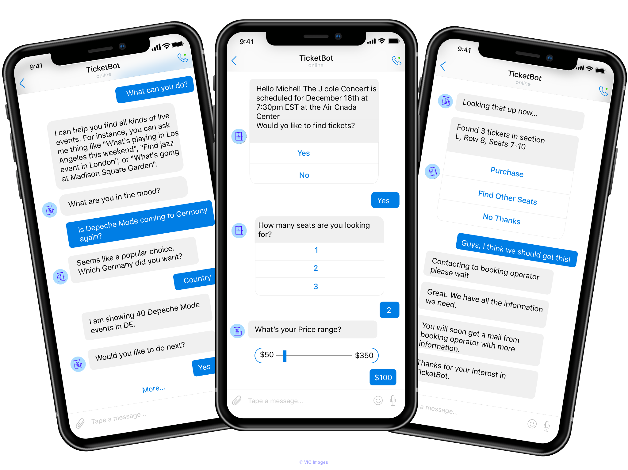 Chatbot System for a Ticket Aggregator platform like TicketMaster calgary