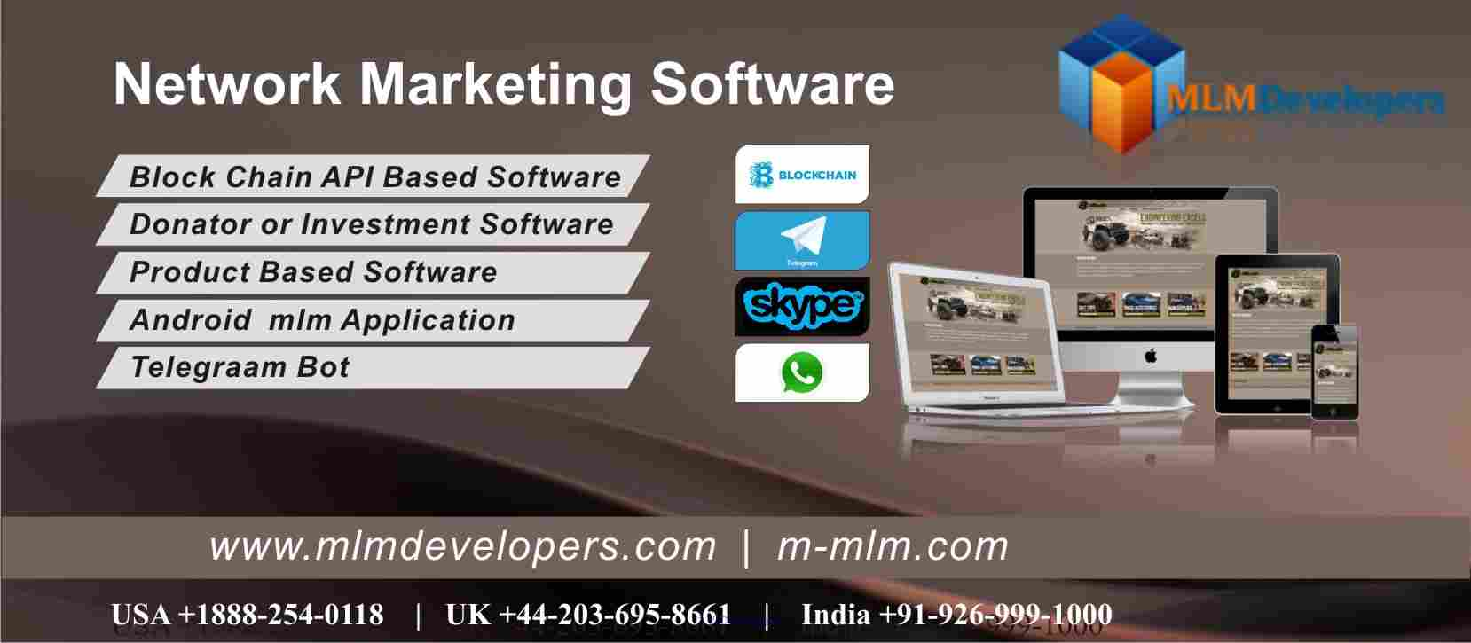 Canada No1. Network Marketing Software Provider. calgary
