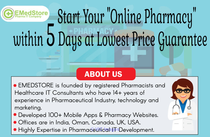 EMedStore – Best Mobile Application for Pharmacy  calgary