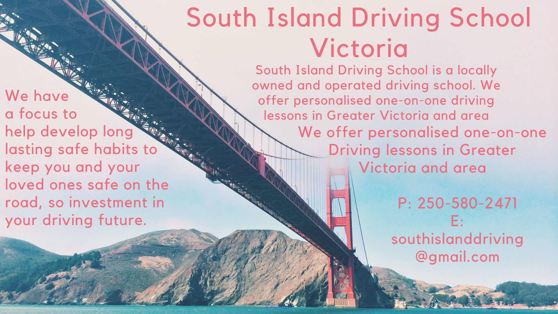 South Island Best Driving School In Victoria Calgary, Alberta, Canada Annonces Classées
