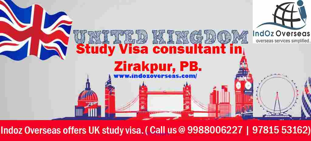 Indoz Overseas offers UK student Visa Consultant services