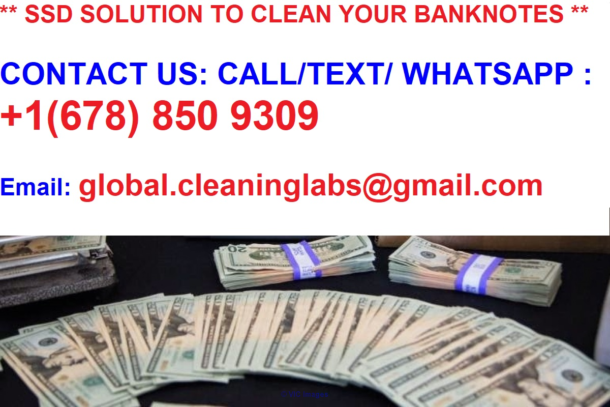*** 99.9% pure SSD for Cleaning your Banknotes *** Calgary, Alberta, Canada Annonces Classées