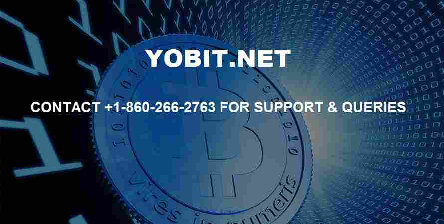 Yobit Support Number 1-860-266-2763 calgary