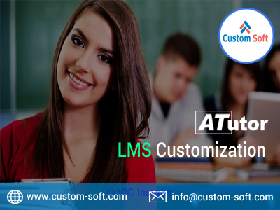 ATutor LMS Customization India by CustomSoft calgary