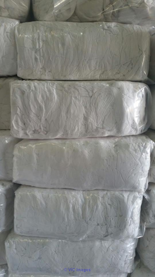 White Prewashed Soft Cotton Rags For Sale calgary