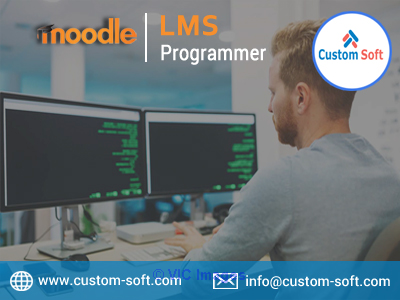 Moodle LMS Programmer in CustomSoft calgary