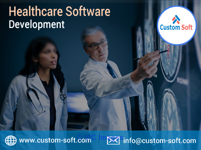 Healthcare Software Development in India by CustomSoft calgary