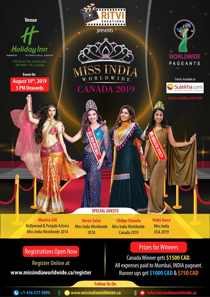 beauty contest international in Canada